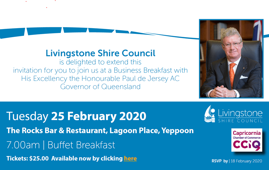 Business Breakfast: Livingstone Shire Council