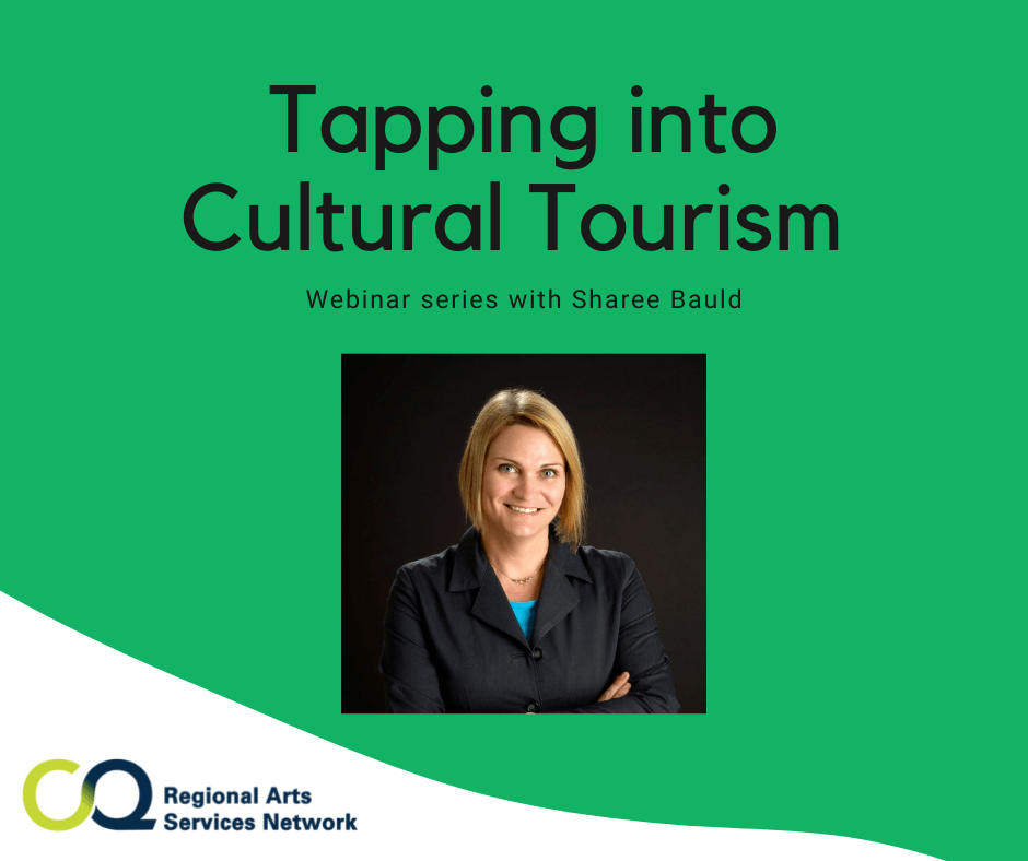 Webinar Series - Tapping into Cultural Tourism